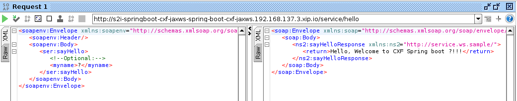 Apache cxf jax-ws: soap based web service using top-down approach.